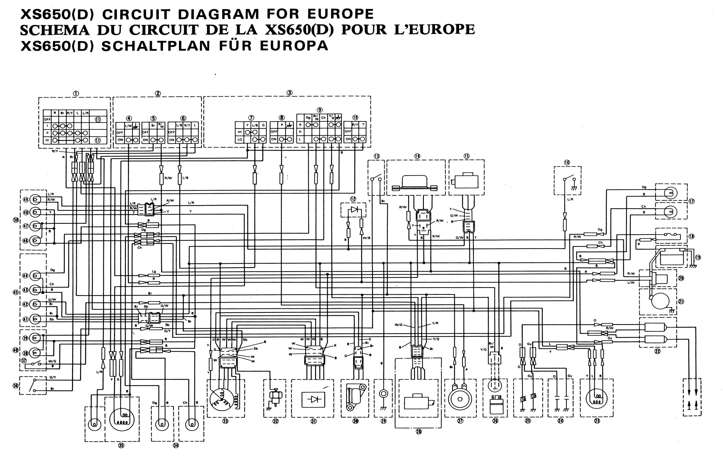 Xs650d Wiring Diagram Great Installation Of Xs650 Points What Happened To My Year 2007 Rh Fi Light Switch Without